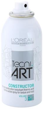 L'Oréal Professionnel Tecni Art Volume spray termo-ativo para fixação e forma 1