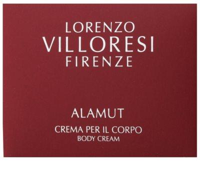 Lorenzo Villoresi Alamut tělový krém unisex 2