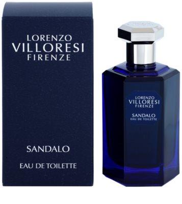Lorenzo Villoresi Sandalo Eau de Toilette unissexo