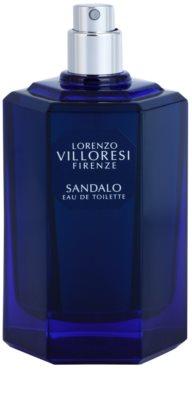 Lorenzo Villoresi Sandalo eau de toilette teszter unisex