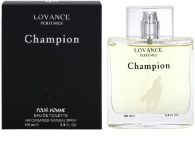 Lovance Champion Pour Homme eau de toilette para hombre