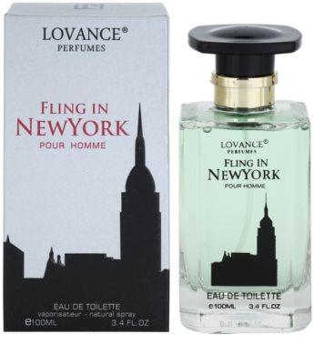 Lovance Fling in New York eau de toilette férfiaknak