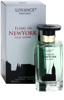 Lovance Fling in New York Eau de Toilette für Herren 1