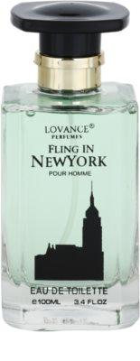 Lovance Fling in New York eau de toilette férfiaknak 2