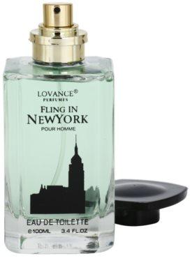 Lovance Fling in New York eau de toilette férfiaknak 3