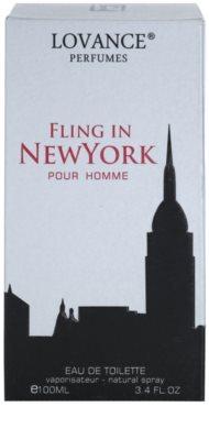Lovance Fling in New York eau de toilette férfiaknak 4