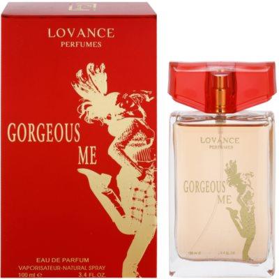 Lovance Gorgeous Me Eau de Parfum para mulheres