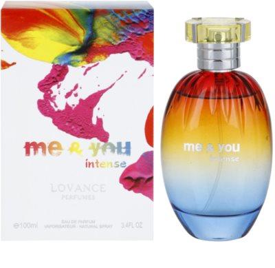 Lovance Me and You Intense eau de parfum nőknek