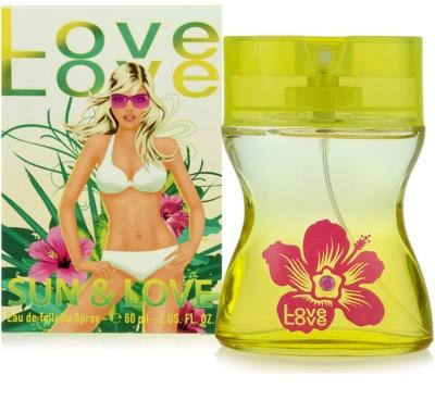 Love Love Sun & Love Eau de Toilette para mulheres