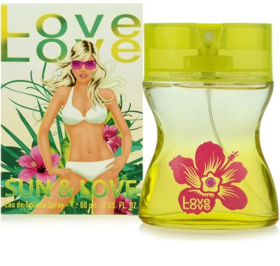 Love Love Sun & Love toaletna voda za ženske