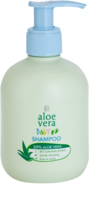 LR Aloe Vera Baby łagodny szampon dla dzieci dla łatwego rozczesywania włosów