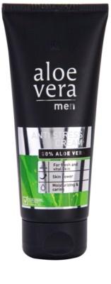LR Aloe Vera Men crema hidratante antiestrés  para el rostro