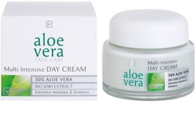 LR Aloe Vera Face Care feuchtigkeitsspendende und festigende Tagescreme 1
