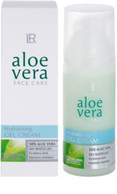 LR Aloe Vera Face Care vlažilni gel za obraz z osvežilnim učinkom 2