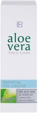 LR Aloe Vera Face Care gel de hidratação da pele com um efeito refrescante 3