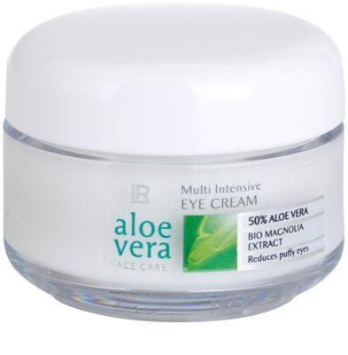 LR Aloe Vera Face Care crema para contorno de ojos para reducir la hinchazón