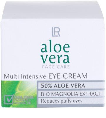 LR Aloe Vera Face Care Augencreme gegen Schwellungen 2