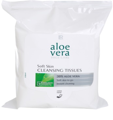LR Aloe Vera Face Care servetele demachiante pentru piele sensibila