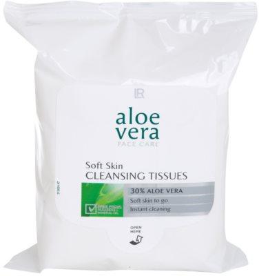 LR Aloe Vera Face Care toalhitas desmaquilhantes para pele sensível