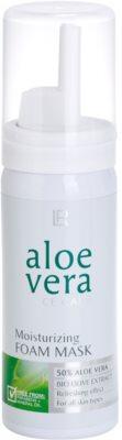 LR Aloe Vera Face Care mascarilla refrescante textura espuma para aportar una máxima hidratación