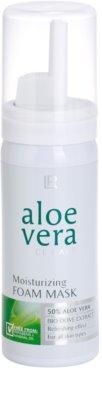 LR Aloe Vera Face Care osviežujúca penová maska pre maximálnu hydratáciu pleti