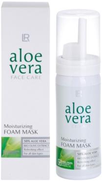 LR Aloe Vera Face Care osvěžující pěnová maska pro maximální hydrataci pleti 1