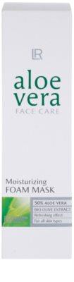LR Aloe Vera Face Care osviežujúca penová maska pre maximálnu hydratáciu pleti 2