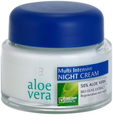 LR Aloe Vera Face Care creme de noite regenerador
