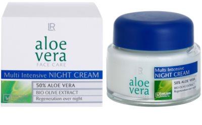 LR Aloe Vera Face Care creme de noite regenerador 1