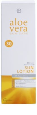 LR Sun Care loción bronceadora para rostro y cuerpo SPF 30 2