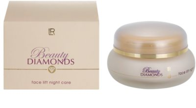 LR Beauty Diamonds crema de noapte cu efect lifting 1