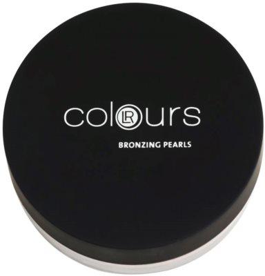 LR Colours bronzeador para rosto com pérolas coloridas