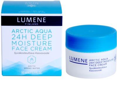 Lumene Arctic Aqua crema de hidratación profunda para pieles normales y secas 2