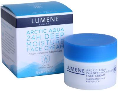Lumene Arctic Aqua crema de hidratación profunda para pieles normales y secas 3