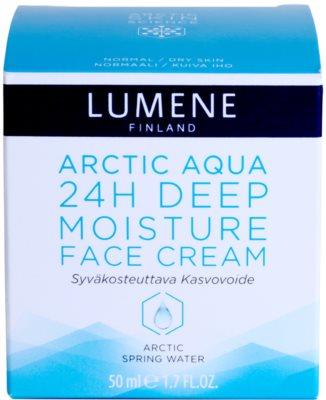 Lumene Arctic Aqua crema de hidratación profunda para pieles normales y secas 4