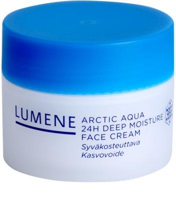 Lumene Arctic Aqua tiefenwirksame feuchtigkeitsspendende Creme für normale und trockene Haut