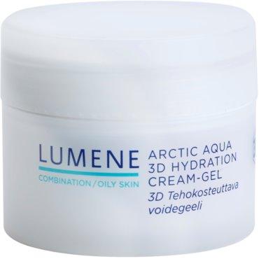 Lumene Arctic Aqua crema gel pentru hidratare. pentru ten mixt si gras