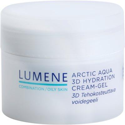 Lumene Arctic Aqua hidratáló géles krém kombinált és zsíros bőrre