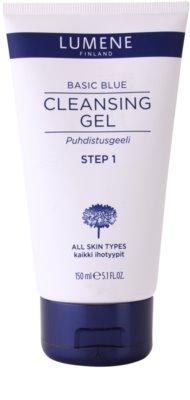 Lumene Basic Blue čistilni gel za obraz
