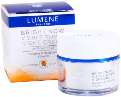 Lumene Bring Now Visible Repair Nachtcreme gegen Falten 2