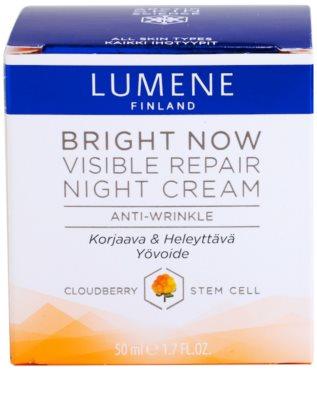 Lumene Bring Now Visible Repair Nachtcreme gegen Falten 3