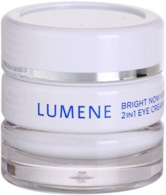 Lumene Bring Now Visible Repair crema para contorno de ojos y corrector