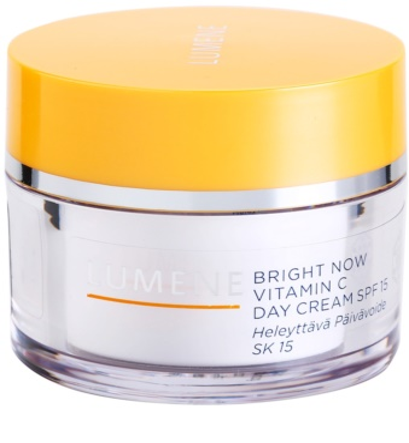 Lumene Bright Now Vitamin C creme de dia hidratante SPF 15