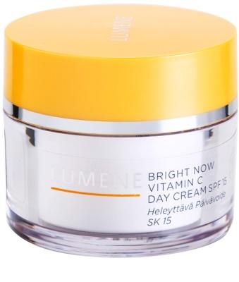 Lumene Bright Now Vitamin C krem nawilżający na dzień SPF 15