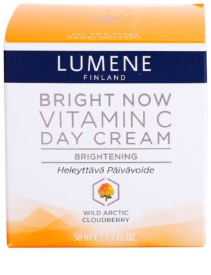 Lumene Bright Now Vitamin C dnevna krema za vse tipe kože 1
