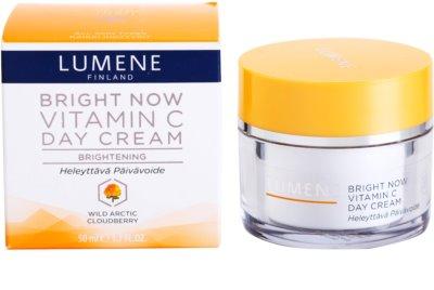 Lumene Bright Now Vitamin C dnevna krema za vse tipe kože 4