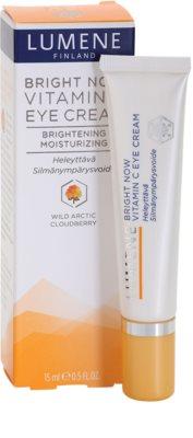 Lumene Bright Now Vitamin C нежен очен крем 2