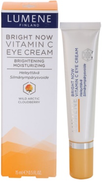 Lumene Bright Now Vitamin C нежен очен крем 3