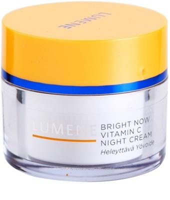 Lumene Bright Now Vitamin C Nachtcreme für alle Hauttypen