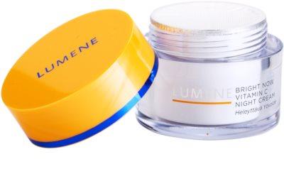 Lumene Bright Now Vitamin C Nachtcreme für alle Hauttypen 2